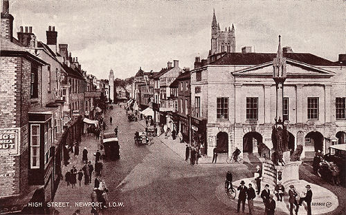 newport isle of wight high street 1930