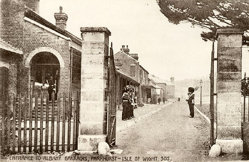 newport isle of wight albany barracks